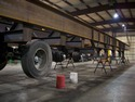 Portable crusher trailer by Specialty Welding, Inc.