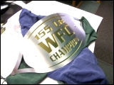 Championship buckle by Specialty Welding, Inc.