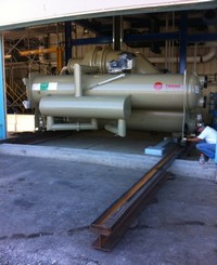 Chillers installed by Specialty Welding, Inc.