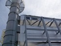 Duct bridge support structure by Specialty Welding, Inc.