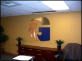 Grant County PUD wall decor by Specialty Welding, Inc.