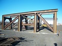 Heavy equipment support frame by Specialty Welding, Inc.