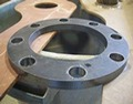 Custom pipe flange by Specialty Welding, Inc.