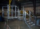 Platform and stairs by Specialty Welding, Inc.