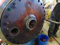 Steam drum repair by Specialty Welding, Inc.
